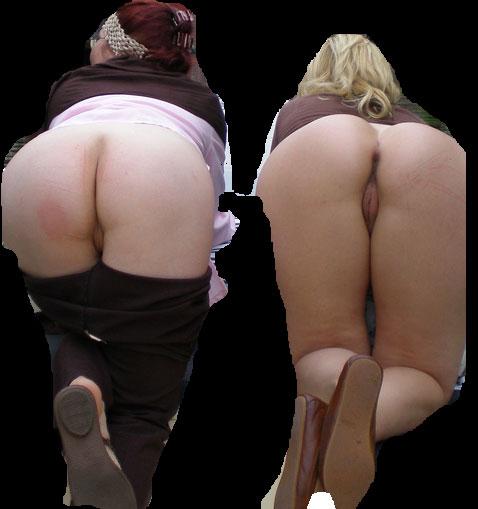 Två äldre kvinnor vill få sprut i fittan
